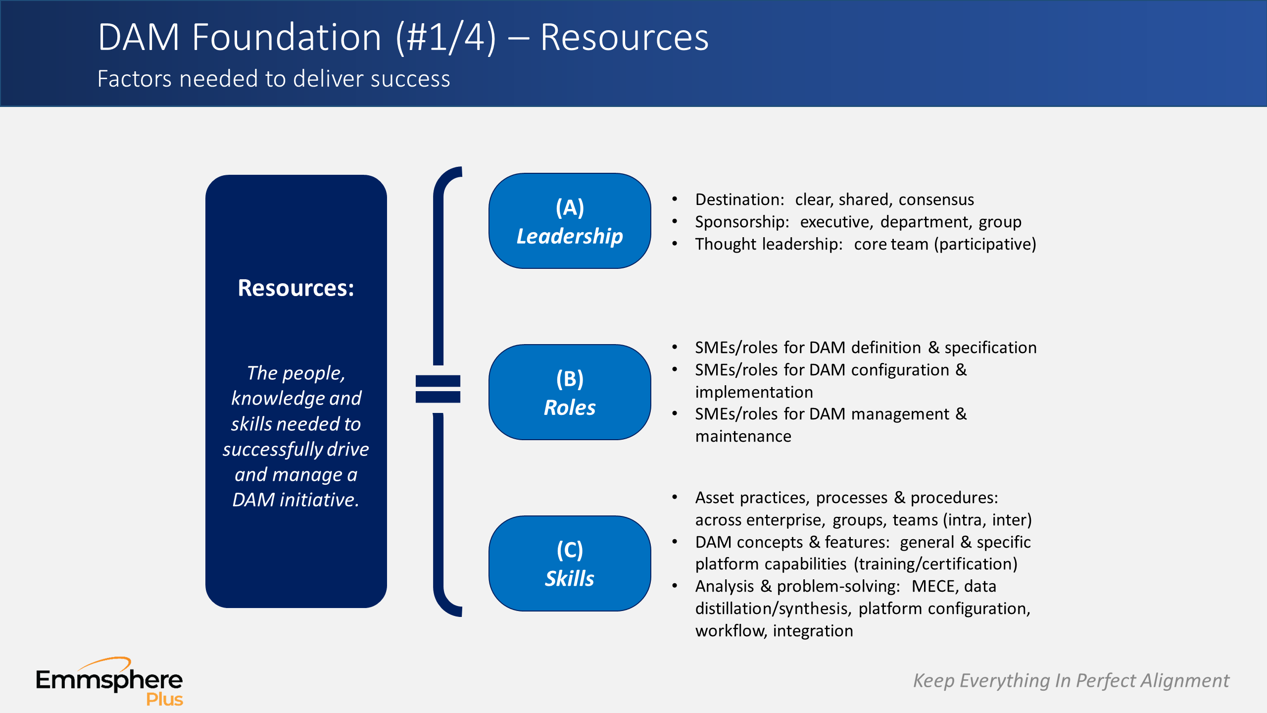 DAM Perspectives Part 4 – Resources