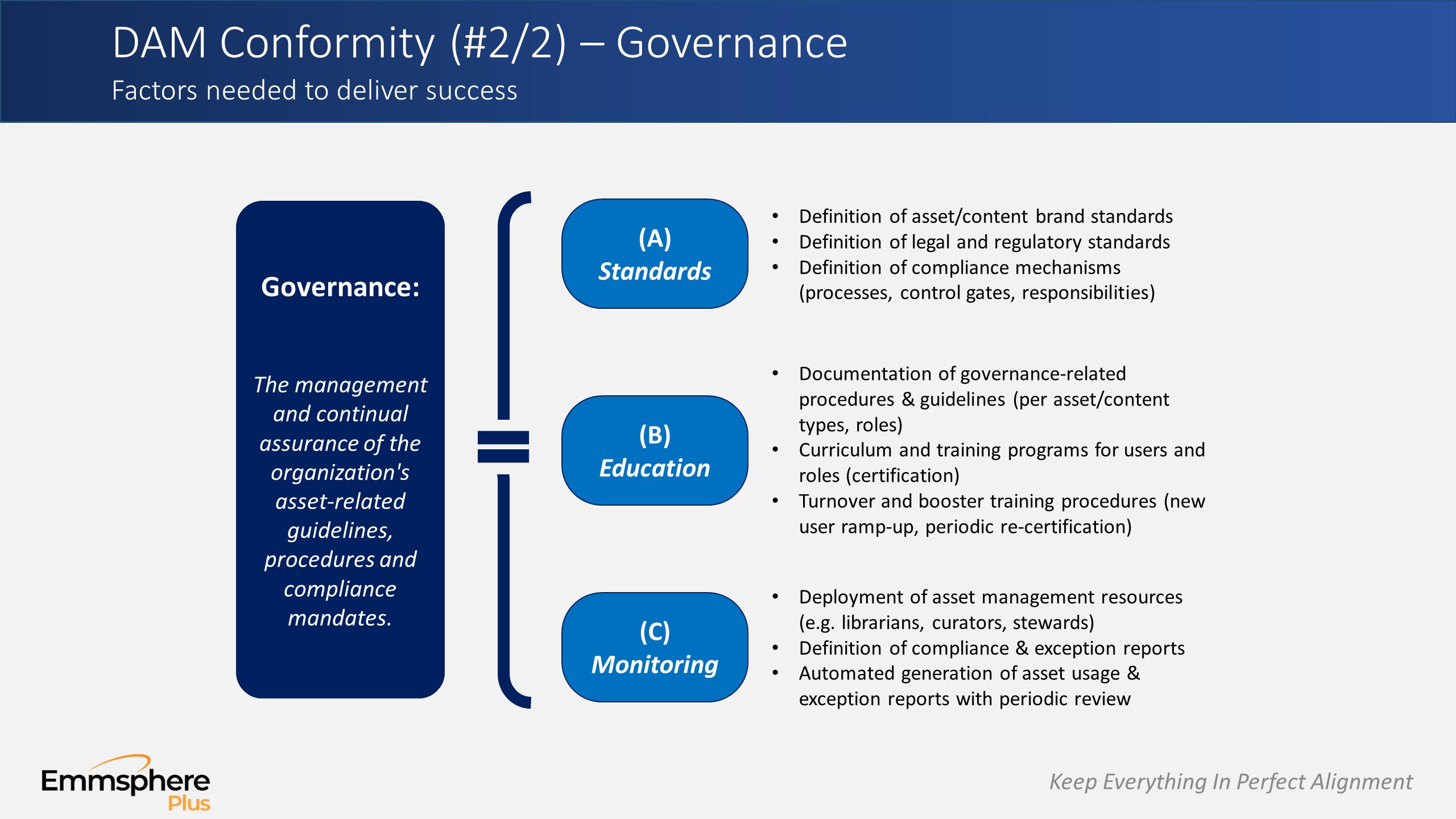 DAM Perspectives Part 6 – Governance